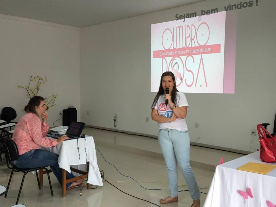 Outubro Rosa – Projeto toque de amor.