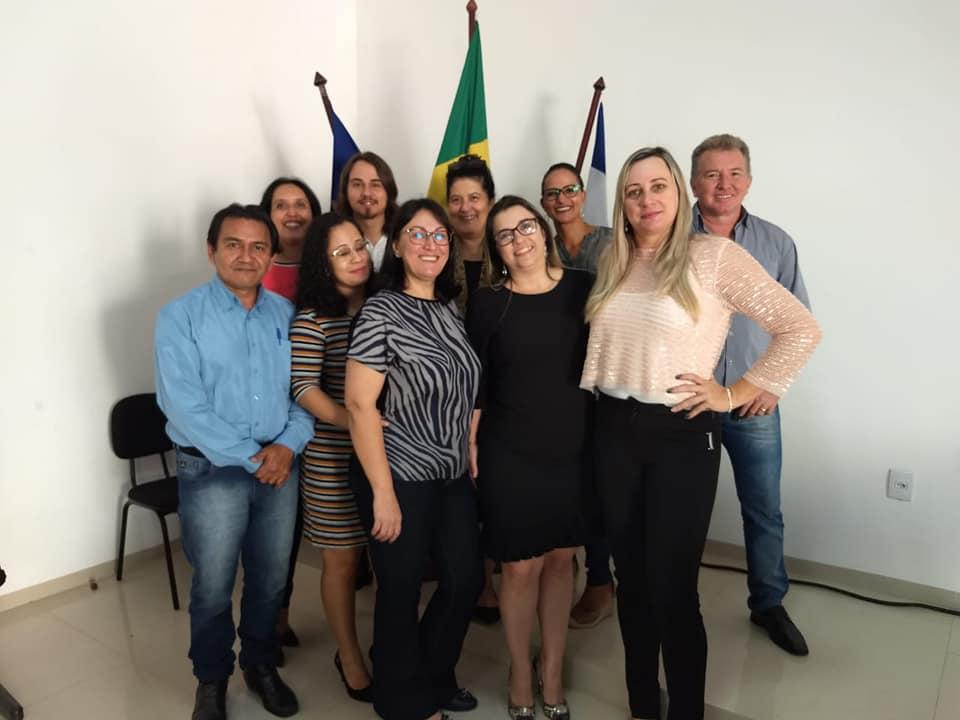 Essa é nossa equipe, cada um desenvolve um importante trabalho e juntos administramos o IPMV
