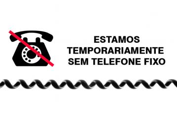 Atenção: Telefone fixo do IPMV com problemas temporários