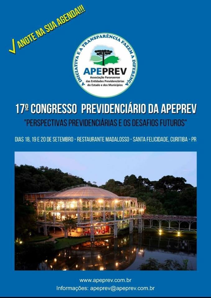 Congresso de Previdência da APPREV