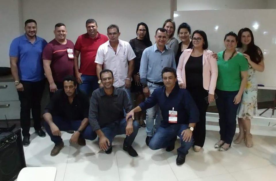 Gestores de Regimes Próprios de Rondônia que participaram do Curso