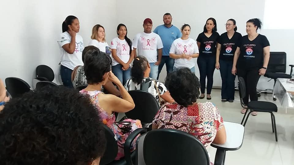 Primeiro dia do Evento realizado no IPMV em referência ao outubro rosa