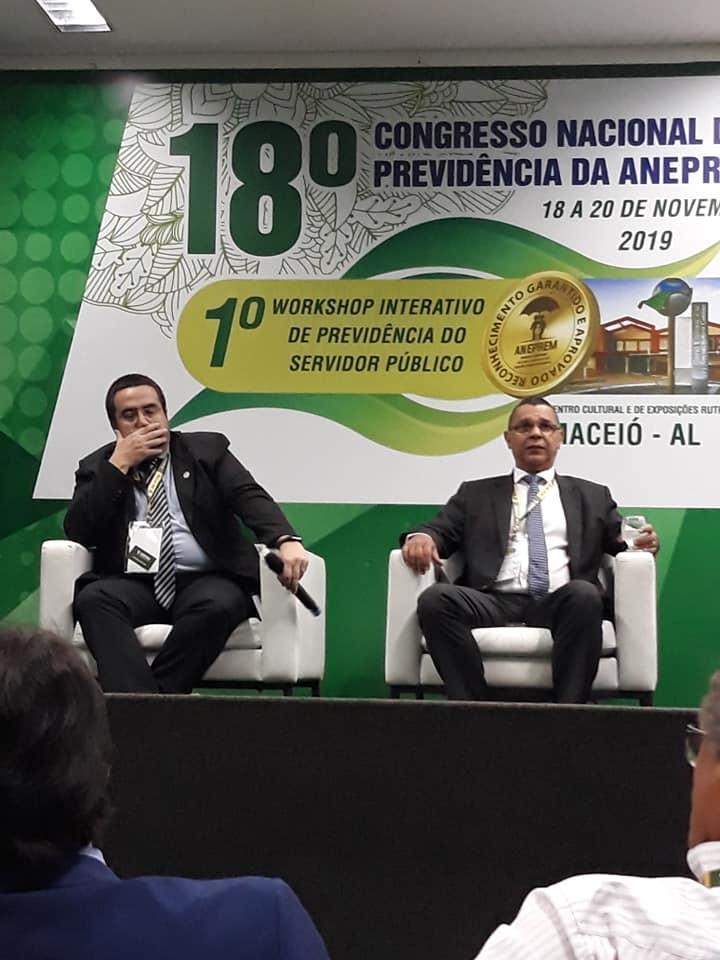 Segundo dia do Congresso Nacional de Previdência da ANEPREM em Maceió
