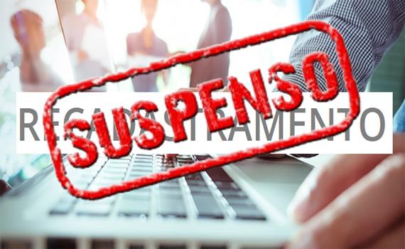 Suspensão do Recadastramento dos servidores da Prefeitura de Vilhena
