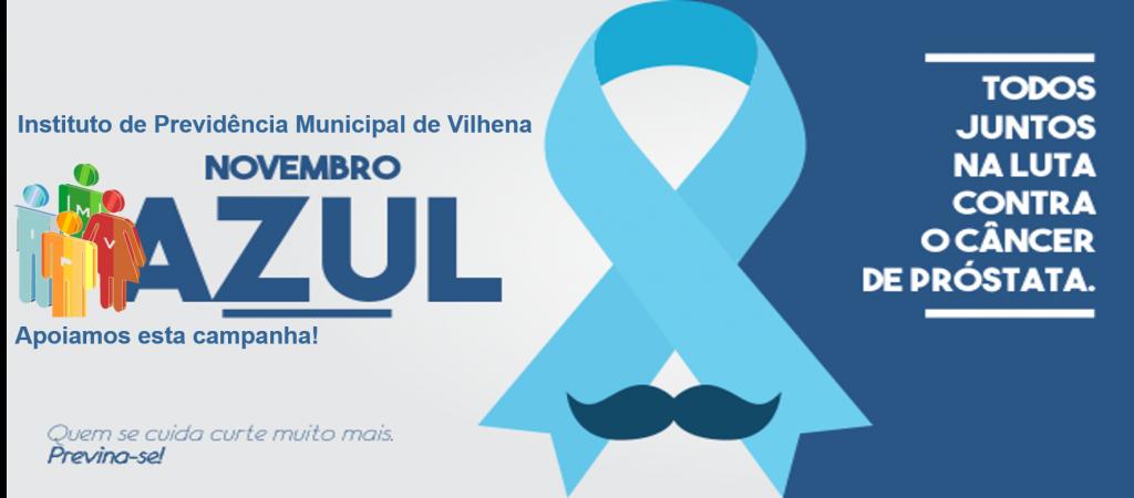 IPMV apoia esta campanha: Novembro Azul