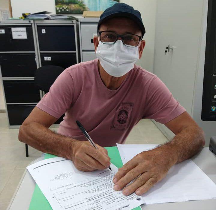 Edson Belli é um dos mais novos aposentados do IPMV
