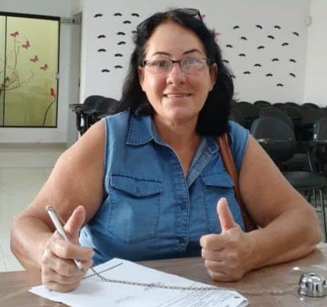 Lourdes Polini entra para o grupo de aposentados do IPMV e comemora conquista