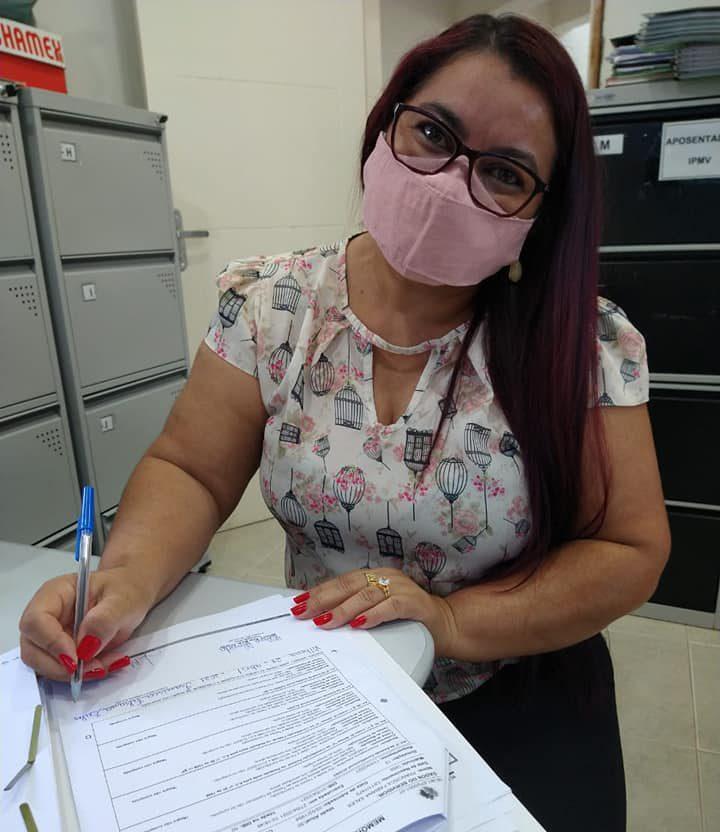 Francisca Fabiana Sales entra para o grupo de aposentadas do IPMV
