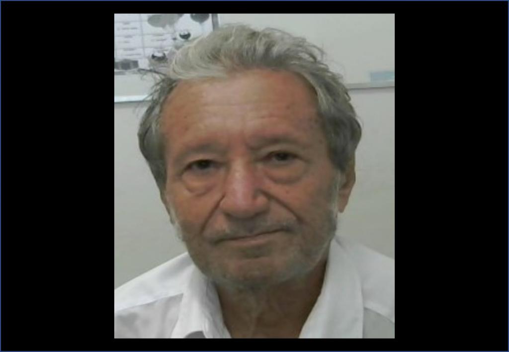 Nota de falecimento do dr. Antônio Jeremias Paes
