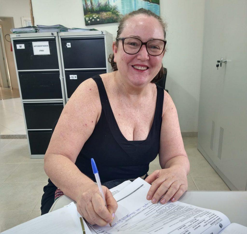IPMV recebe nova aposentada: Maria Aparecida Campana