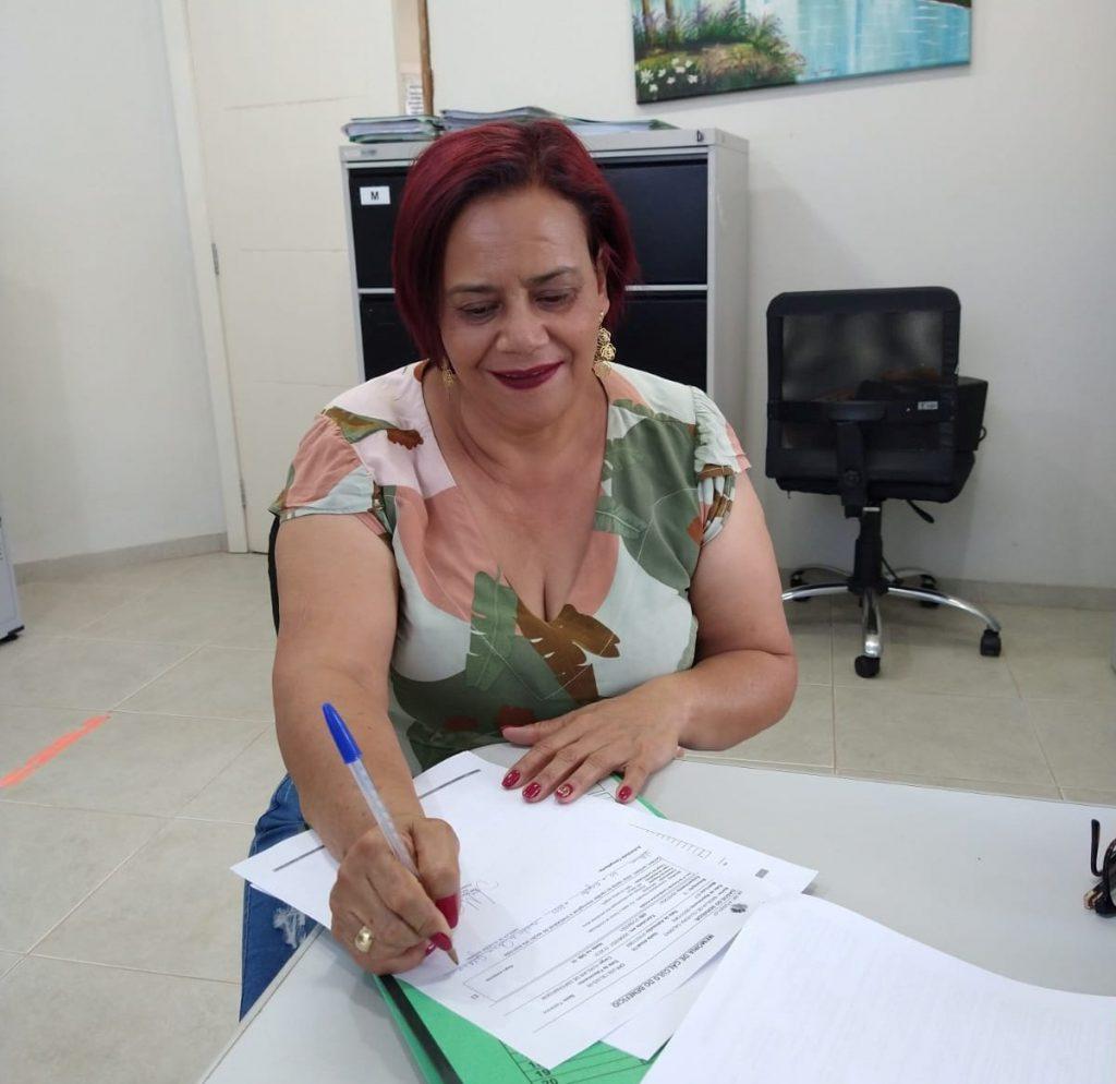 Nadilva de Oliveira Galdino entra na lista dos aposentados do IPMV